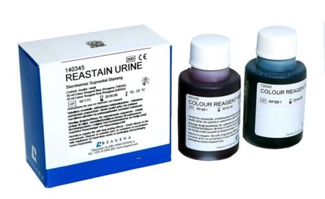 Красители мочи Erba Reastain Urine