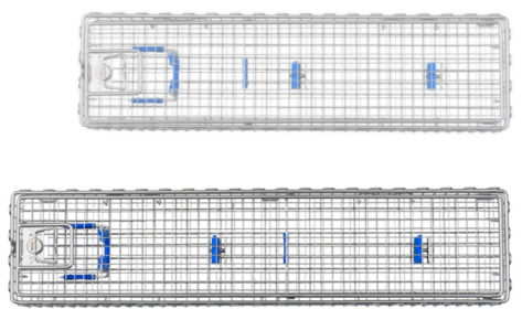 Корзины для обработки Bowa LOTUS с крышкой