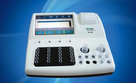 Полуавтоматический коагулометр — Erba ECL 412